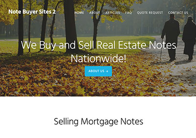 Theme 2, Note Buyer Sites